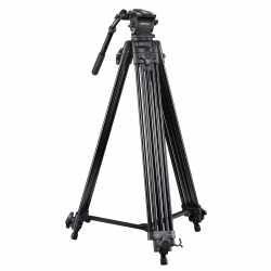 Video statīvi - walimex pro Video Tripod Cineast I 188cm - quick order from manufacturer