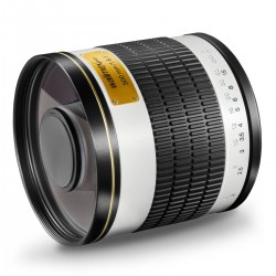 Objektīvi - walimex pro 500/6,3 CSC Mirror MFT white - ātri pasūtīt no ražotāja