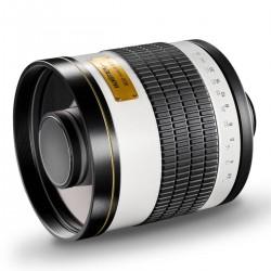 Objektīvi - walimex pro 800/8,0 DSLR Mirror Canon EF white - ātri pasūtīt no ražotāja