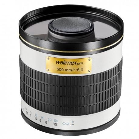 Объективы - walimex pro 500/6,3 DSLR Mirror Minolta MD white - быстрый заказ от производителя