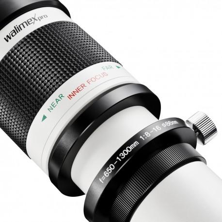 Объективы - walimex pro 650-1300/8-16 DSLR Sony A white - быстрый заказ от производителя