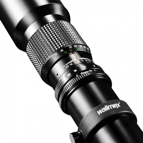 Объективы - walimex 500/8,0 DSLR T2 black - быстрый заказ от производителя