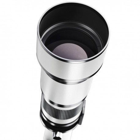 Объективы - walimex pro 650-1300/8-16 DSLR Nikon F white - быстрый заказ от производителя