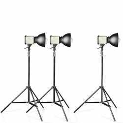 Video dienas gaismas - walimex Studioset Daylight 150/150/150 - ātri pasūtīt no ražotāja