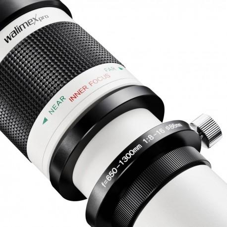 Lenses - walimex pro 650-1300/8-16 DSLR M42 white - quick order from manufacturer