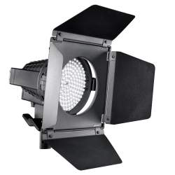 LED Prožektori - walimex pro LED Spotlight + Barndoors - perc šodien veikalā un ar piegādi