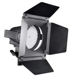 Video LED - walimex pro LED Spotlight + Barndoors - perc šodien veikalā un ar piegādi