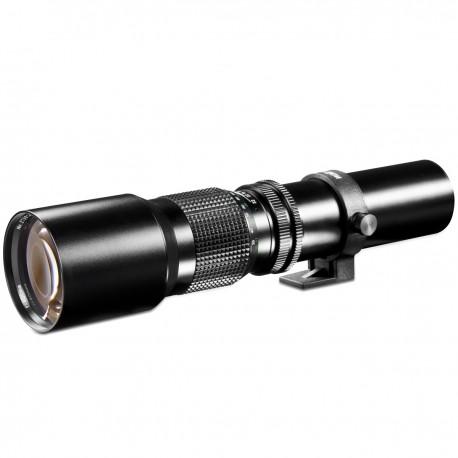 Lenses - walimex 500/8,0 DSLR C-Mount black - quick order from manufacturer