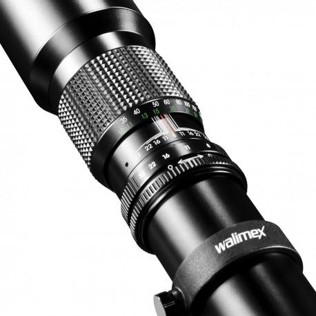 Lenses - walimex 500/8,0 CSC MFT black - quick order from manufacturer