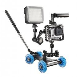 Video sliedes - walimex pro Dolly Action Set GoPro I - ātri pasūtīt no ražotāja