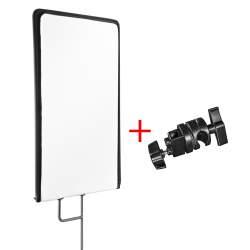 Saliekamie atstarotāji - walimex pro 4in1 Reflektor Panel, 45x60cm + clamp - ātri pasūtīt no ražotāja