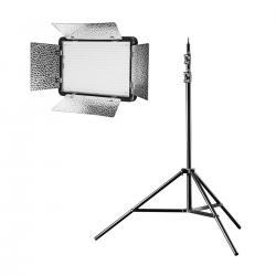 LED Paneļi - walimex pro LED 500 Versalight Daylight Set1 - ātri pasūtīt no ražotāja