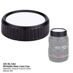 Objektīvu vāciņi - JJC Rakstāms aizmugurējās lēcas vāciņš Nikon F lēcai - perc šodien veikalā un ar piegādi