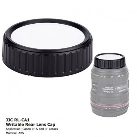 Lens Caps - JJC Writable Rear Lens Cap for Nikon F Lens - buy today in store and with delivery