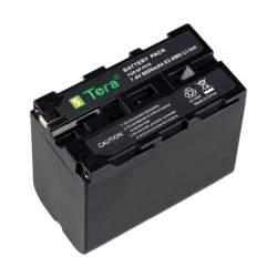 Kameras akumulatori un gripi - Battery Sony NP-F960 NP-F970 NP-F950 NP-F930 8600mAh, 7.2V - perc šodien veikalā un ar piegādi