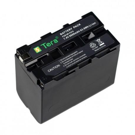 Kameru akumulatori - Newell Battery Sony NP-F960 8600mAh 7.2V - perc šodien veikalā un ar piegādi