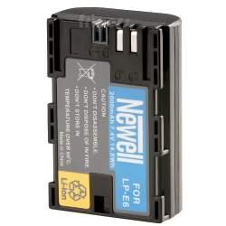 Kameru akumulatori - Newell LP-E6 baterija priekš Canon EOS 5D Mark III, 6D, 7D, 60D, 70D battery - perc šodien veikalā un ar piegādi