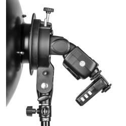 Aksesuāri zibspuldzēm - Quadralite Reporter kameras zibspuldzes stiprinājums S-holder - perc veikalā un ar piegādi