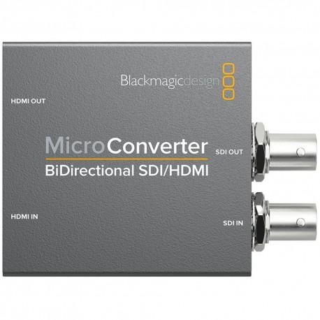 Signāla kodētāji, pārveidotāji - Blackmagic Design Micro Converter BiDirectional SDI/HDMI wPSU - perc šodien veikalā un ar piegādi
