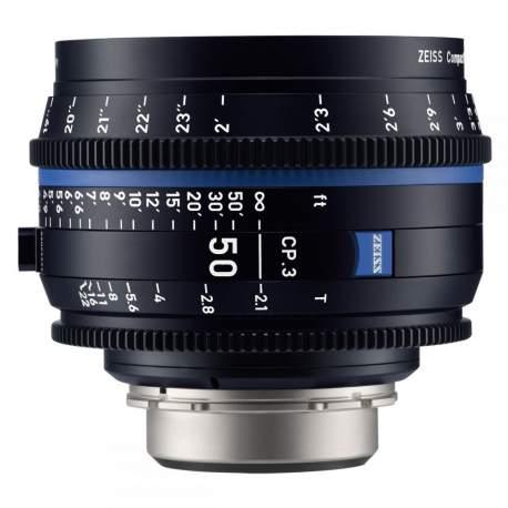 Objektīvi - Carl Zeiss CP.3 2.1/50 mm EF Mount - ātri pasūtīt no ražotāja