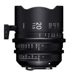 Objektīvi - Sigma FF High Speed Prime 20mm T1.5 E-Mount - ātri pasūtīt no ražotāja