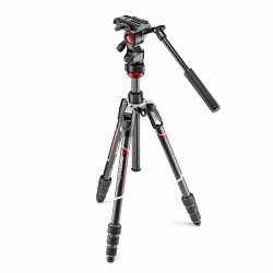 Video tripods - Manfrotto Befree live Carbon fiber tripod twist, video head (MVKBFRTC-LIVE) - quick order from manufacturer