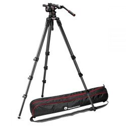 Video tripods - Manfrotto Nitrotech N12 & Single Legs Tripod - quick order from manufacturer