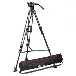 Video tripods - Manfrotto Nitrotech N12 & 545B Twin Leg Tripod MS - quick order from manufacturer
