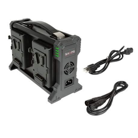 V-Mount аккумуляторы - Shape Quad V-Mount Li-ion Battery Charger (V4CHA) - быстрый заказ от производителя