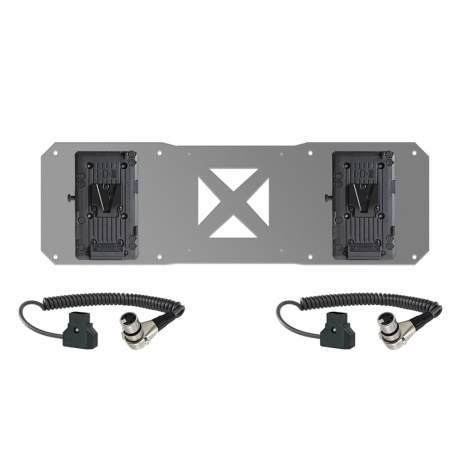 Multikopteru aksesuāri - Shape 2x V-Mount & 2x Cables for Atomos Sumo Battery Plate (2VMAB) - ātri pasūtīt no ražotāja