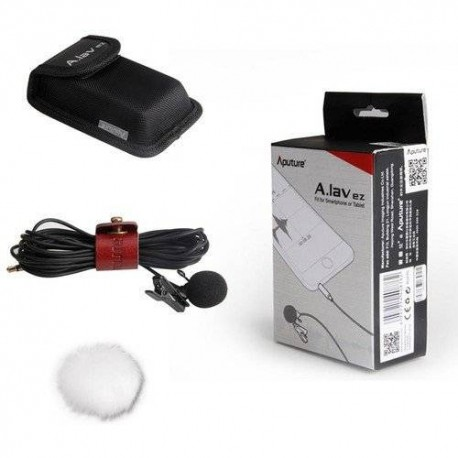 Discontinued - Aputure A.lav ez Lavalier Microphone for Smartphone and camera