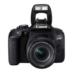 Зеркальные фотоаппараты - Canon EOS 800D Digital SLR with 18-55 IS STM Lens Black - купить сегодня в магазине и с доставкой