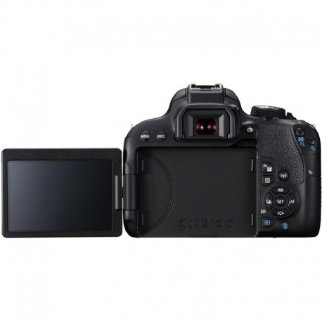 Spoguļkameras - Canon EOS 800D Digital SLR with 18-55 IS STM Lens Black - perc šodien veikalā un ar piegādi