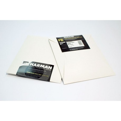 Photo paper - Ilford Direct Positiv Paper FB 1K Ilford Direct Positiv Paper FB 1K 4x5 25 Sheets - quick order from manufacturer