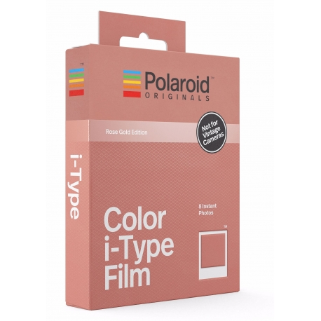 Photo films - POLAROID ORIGINALS COLOUR FILM I-TYPE ROSE GOLD - quick order  from 0cb50cadd59f