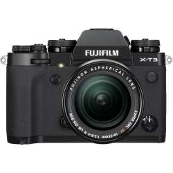 Mirrorless Cameras - Fujifilm X-T3 + 18-55mm Kit, black 16588705 - quick order from manufacturer