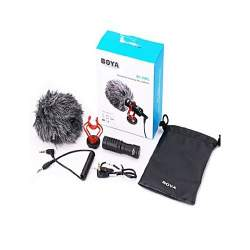 Mikrofoni - Boya Universal Compact Shotgun Microphone BY-MM1 - perc šodien veikalā un ar piegādi