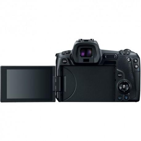Bezspoguļa kameras - Canon EOS R mirrorless camera FF w. Adapter EF-EOS-R - perc šodien veikalā un ar piegādi