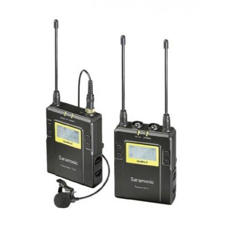 Skaņas ierakstīšana - Saramonic UWMIC9 bezvadu komplekts ar vienu mikrofonu