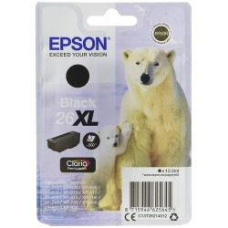 Printers and accessories - Epson 26XL Ink Cartridge, Black - quick order from manufacturer