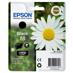 Принтеры и принадлежности - Epson 18 BK Ink cartridge, Black - быстрый заказ от производителя