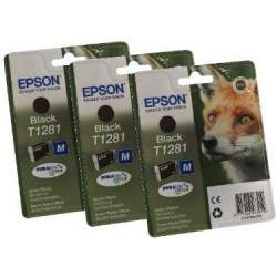 Printers and accessories - Epson T1281 Ink Cartridge, Black - quick order from manufacturer