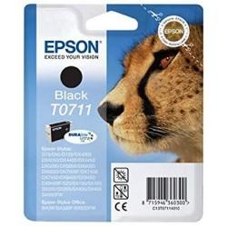 Printeri un piederumi - Epson T0711 Ink Cartridge Black Epson - ātri pasūtīt no ražotāja