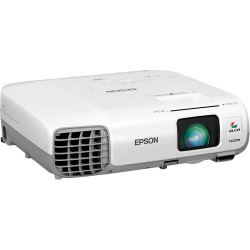 Projectors & screens - Epson Mobile Series EB-965H XGA (1024x768), 3500 ANSI lumens, 10.000:1, White, - quick order from manufacturer