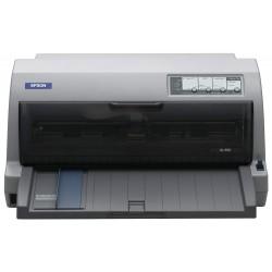 Printeri un piederumi - Epson LQ-690 Dot matrix, Printer, Grey - ātri pasūtīt no ražotāja