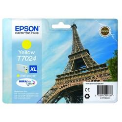 Printeri - Epson T7024 Ink Cartridge, Yellow - ātri pasūtīt no ražotāja