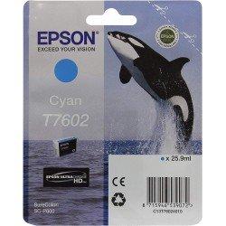 Printeri - Epson T7602 Ink Cartridge, Cyan - ātri pasūtīt no ražotāja