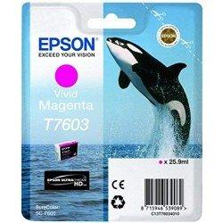 Printeri - Epson T7603 Ink Cartridge, Magenta - ātri pasūtīt no ražotāja