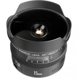 Objektīvi un aksesuāri - Canon EF 15mm f/2.8 fisheye noma
