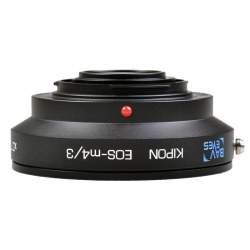 Объективы и аксессуары - Kipon adapter EF lens to MFT camera ручной фокус Speedbooster Аренда